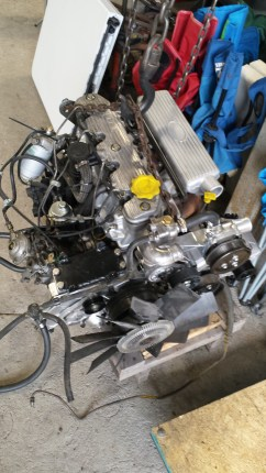 Refurbished engine ready to install