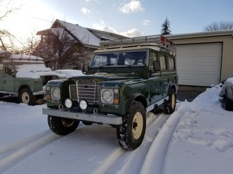 Land Rover Restomod 300tdi swap by Automotion Classics