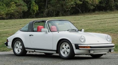 1982 Porsche 911 SC Targa