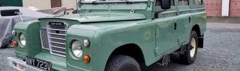 Nantucket Restomod : Land Rover Series 3 109