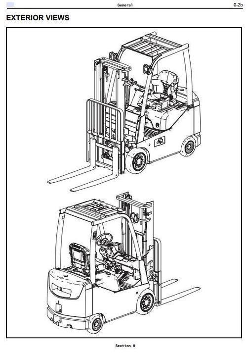 Toyota LPG Forklift 8FGCSU20, 8FGCU15, 8FGCU18, 8FGCU20
