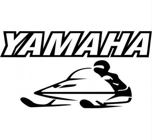 Yamaha VX600ERG, SX600G, MM600G, VT600G Snowmobile Service