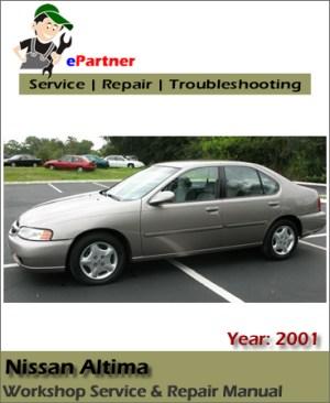 Nissan Altima L30 Service Repair Manual 2001 | Automotive