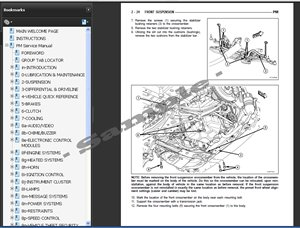 Hyundai XG250 XG300 XG350 Service Repair Manual 2000-2005