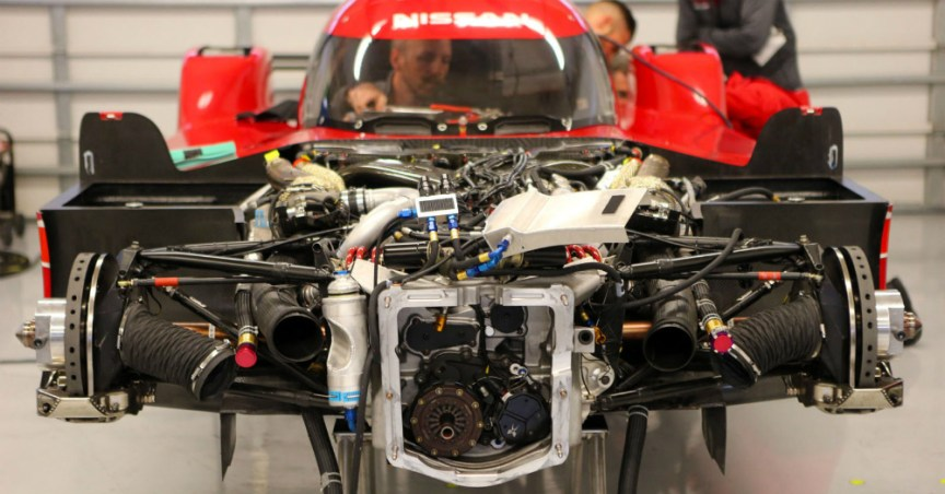 GT-R LM Nismo LMP1 inside