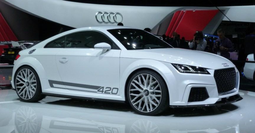 2016 white Audi TT