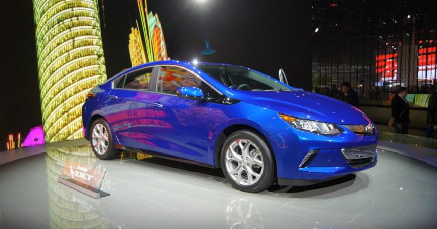2016 Chevrolet Volt Blue
