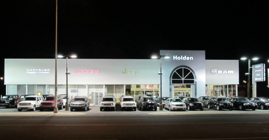 02.18.17 - FCA Dealership at Night