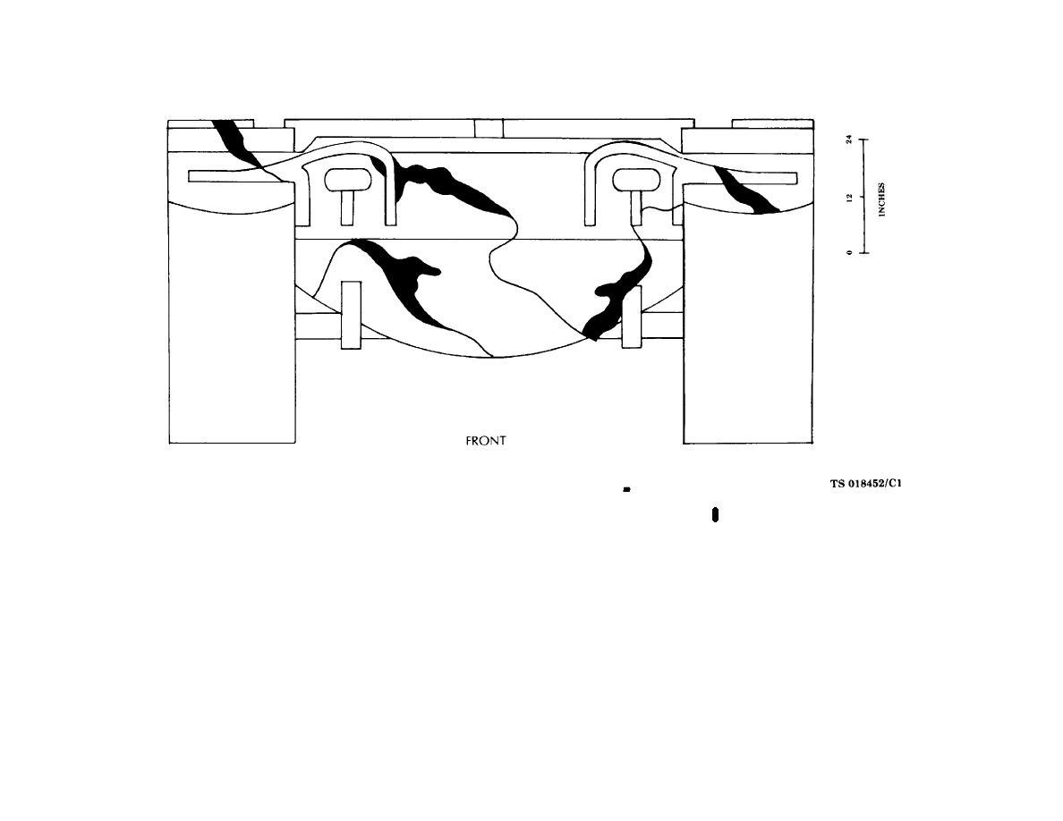Figure 3-9. M418 and M60 tank hull (sheet 1 of 5).