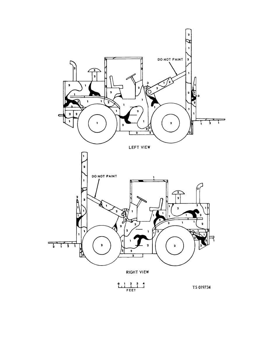 Figure 3-42. Truck, fork lift, COML 15,000 and 50,000 lb