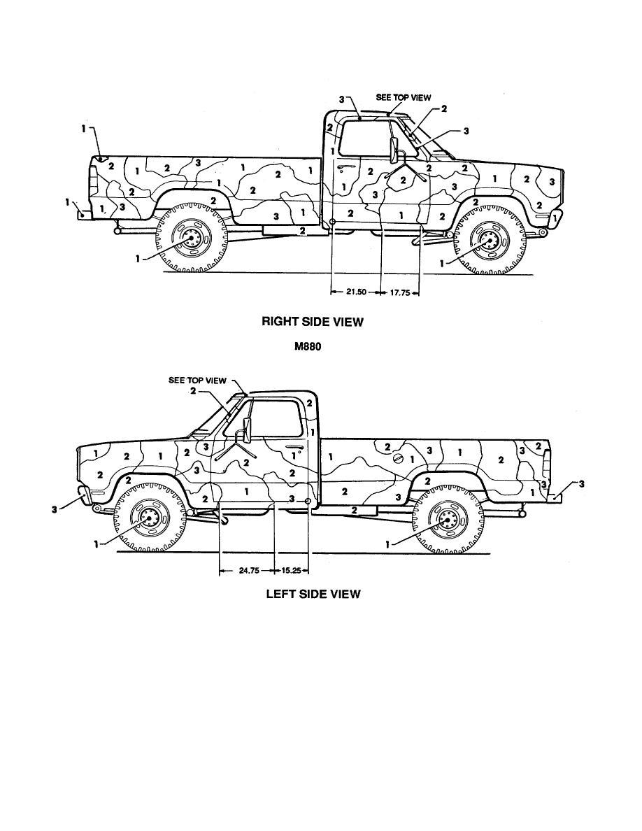 Figure 36. Truck, cargo: 1-1/4-ton M880. (2 of 2)