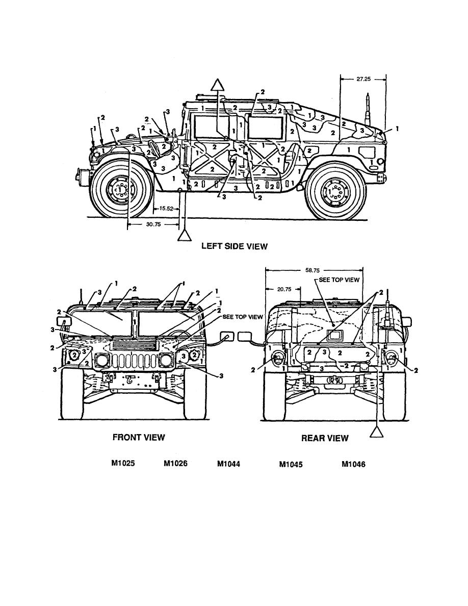 Figure 40. Truck, utility: armament carrier, armored 1-1/4