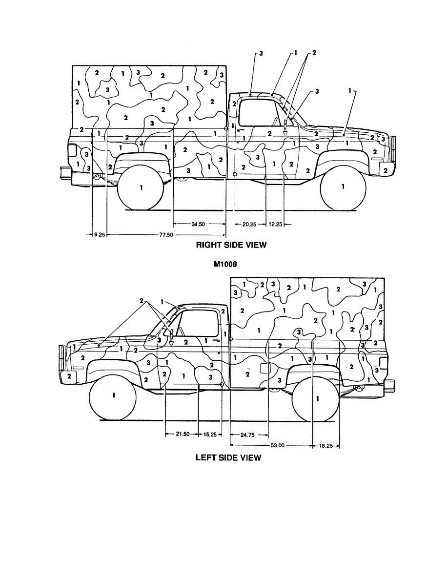 Figure 43. Truck, cargo: canvas shelter, 1-1/4-ton, 4 x 4