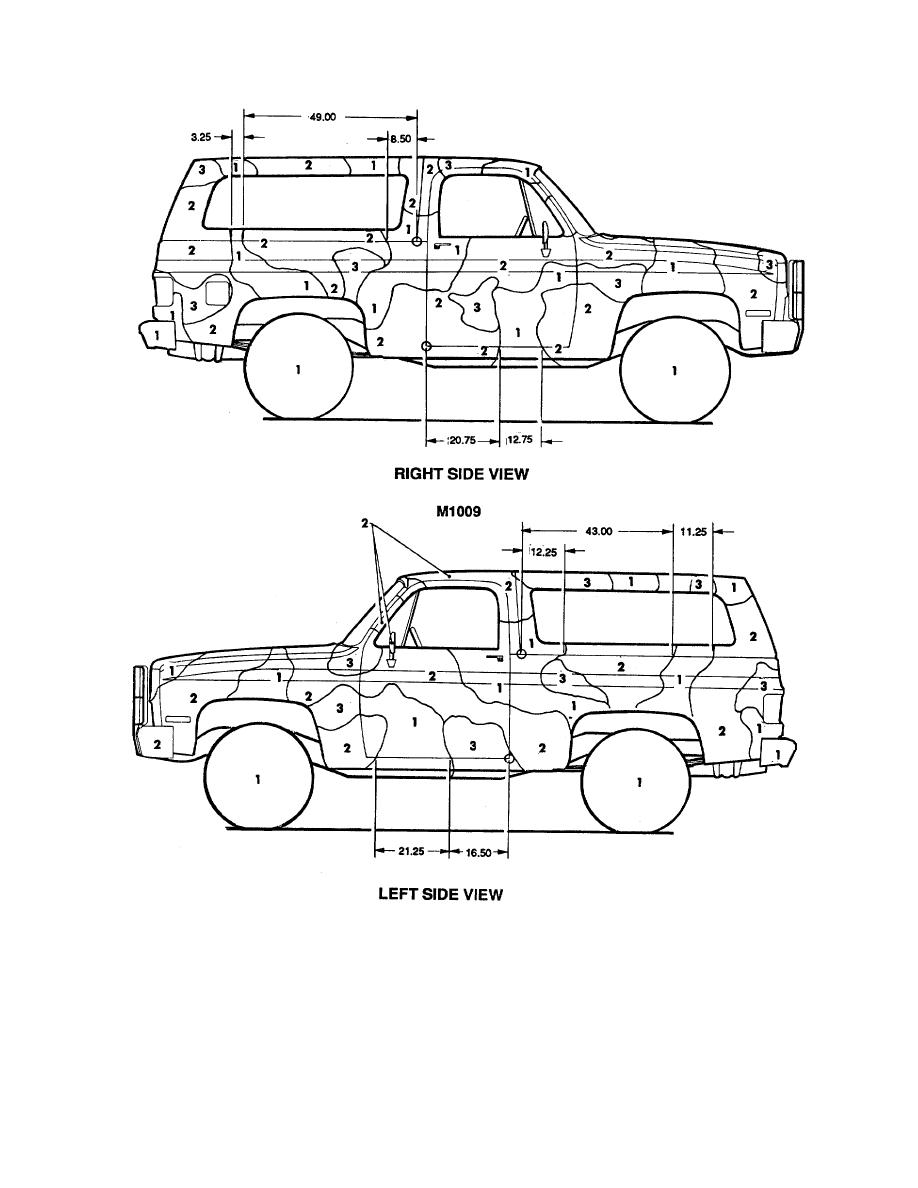 Figure 44. Truck, utility: 3/4-ton, 4 x 4, M1009. (2 of 2)
