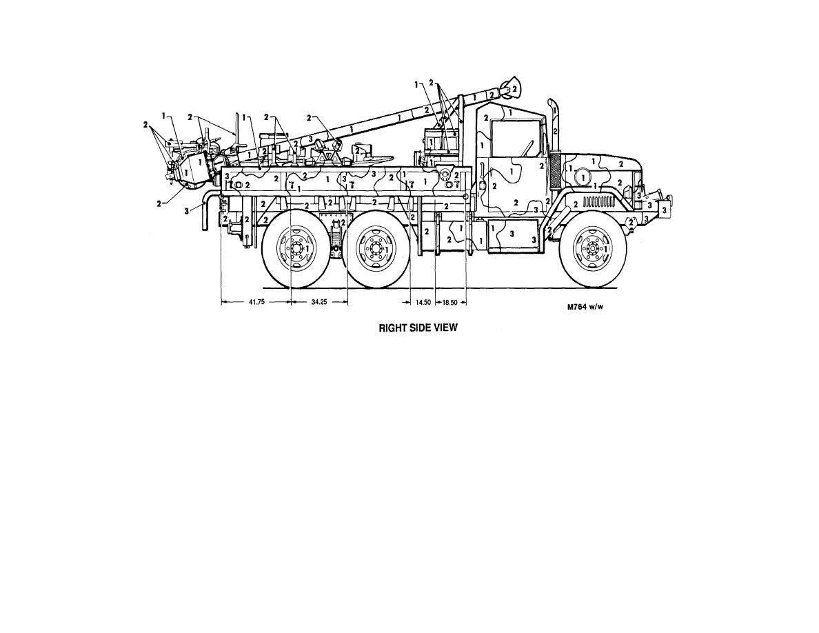 Figure 55. Truck, maintenance, earth boring machine and