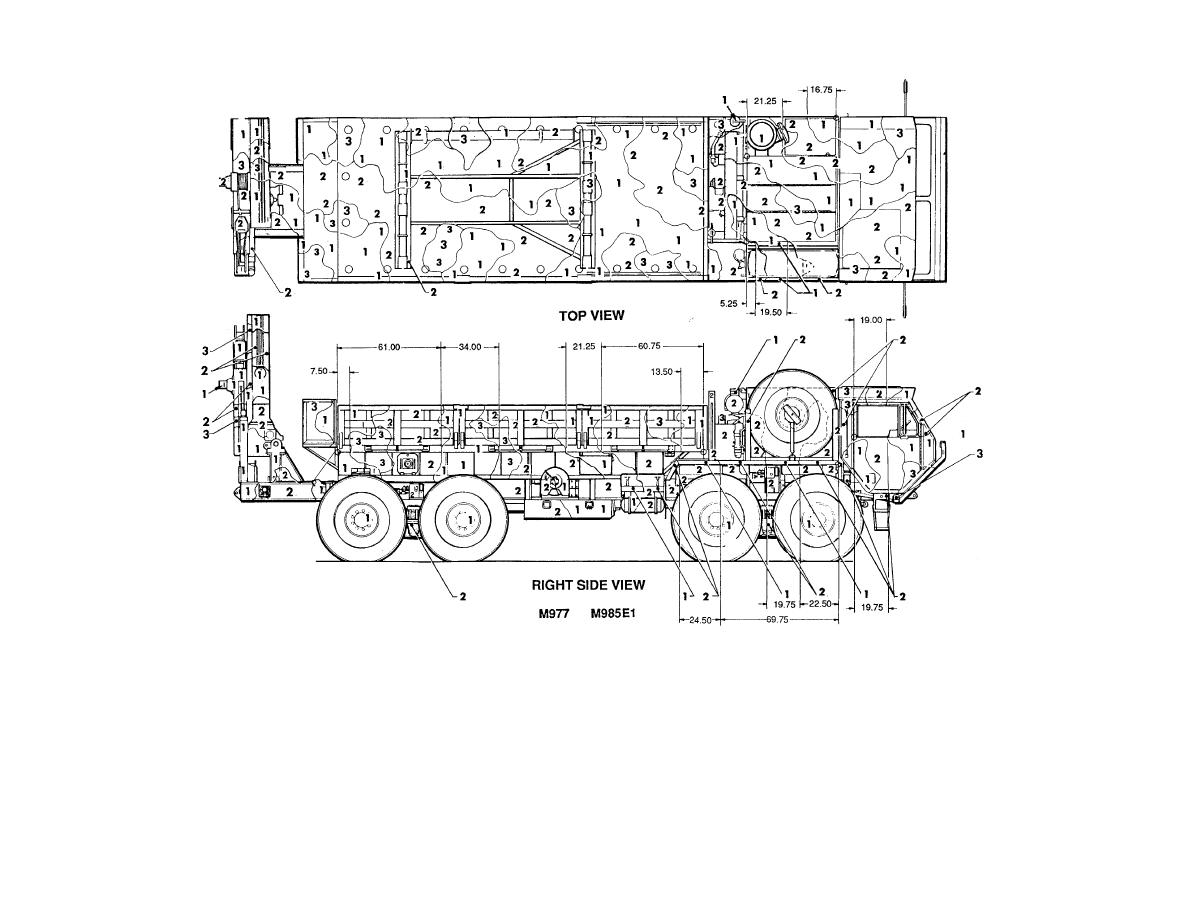 Figure 80. Truck, cargo: 11-ton, M977 and M985E1. (1 of 2)