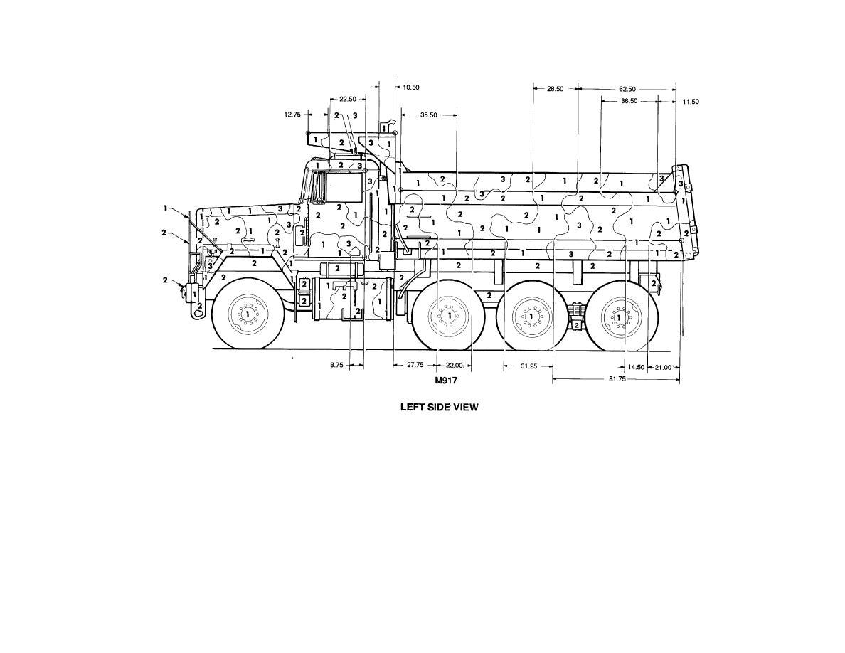 Figure 88. Truck, dump: 20-ton, M917. (3 of 4)