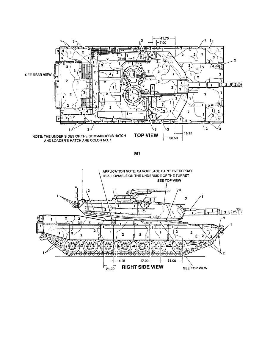 Figure 90. Tank, combat, full tracked: 105-mm gun, M1/M1