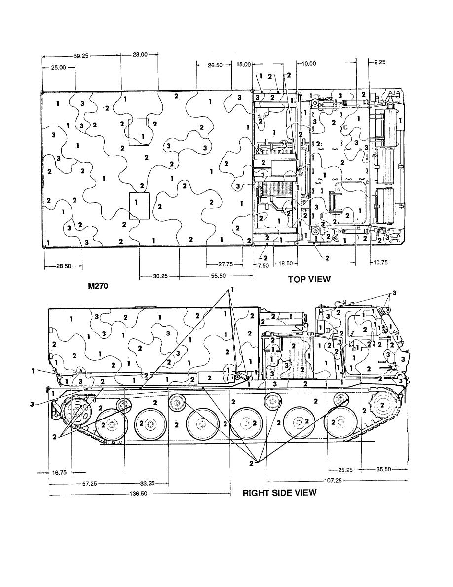 Figure 99. Self-propelled Loader/Launcher, M270. (1 of 2)