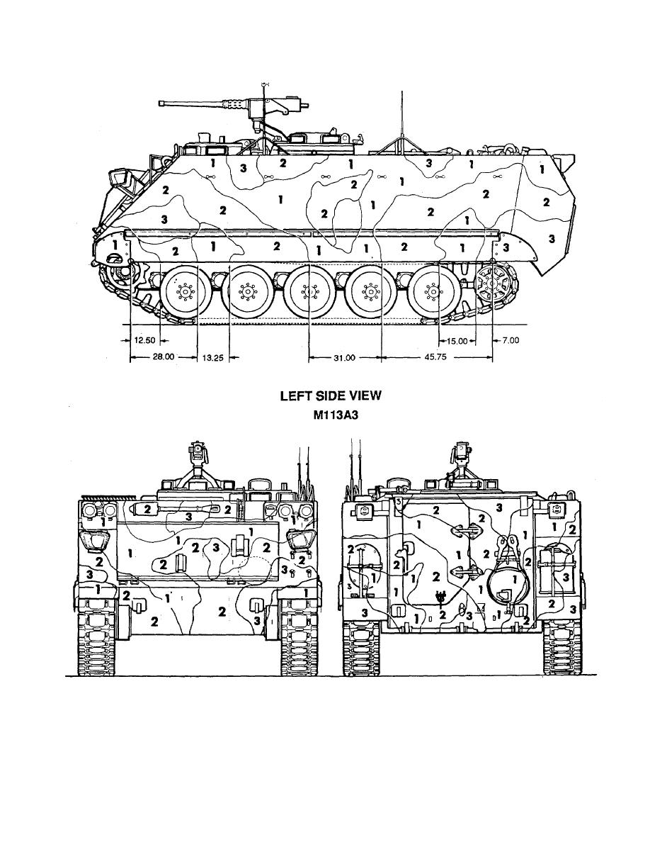 Figure 108. Carrier, personnel: M113A3. (2 of2)