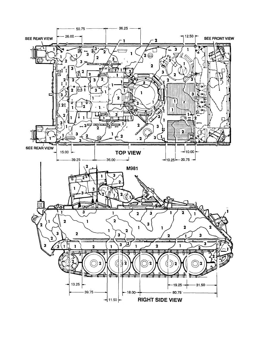 Figure 110. Carrier, personnel, fire support, M981. (1 of2)