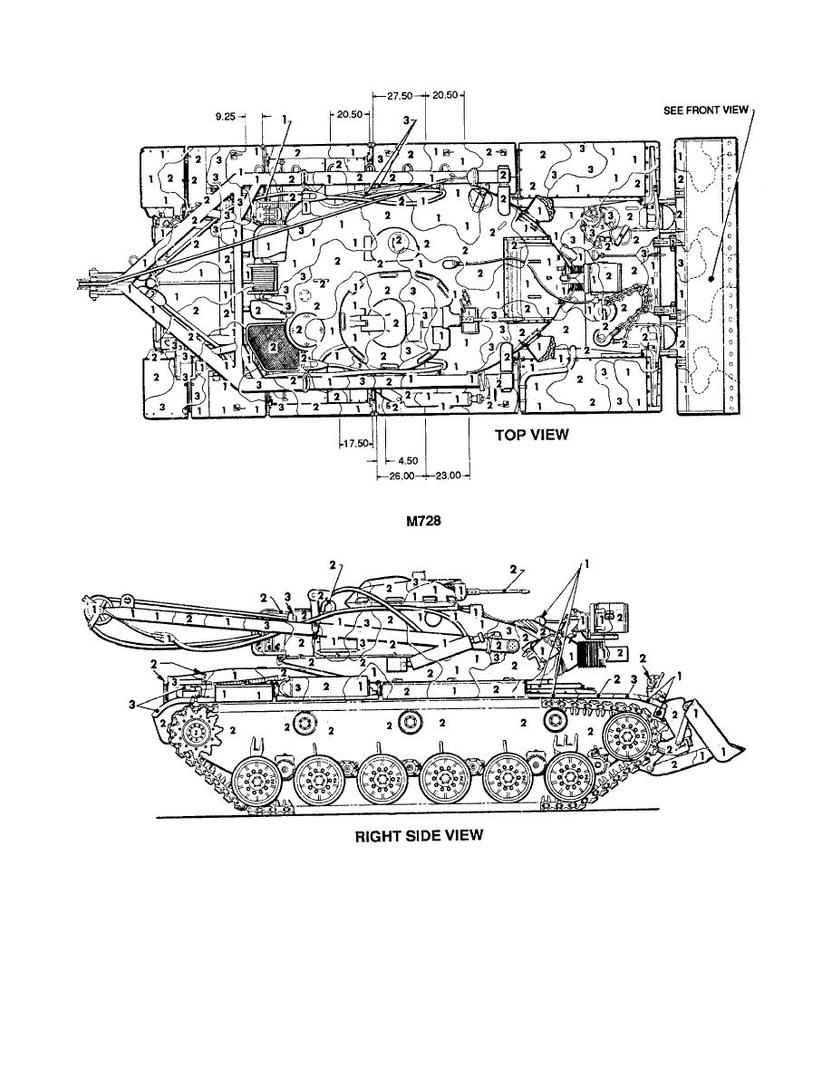 Figure 115. Tank, combat, engineers vehicle, full tracked