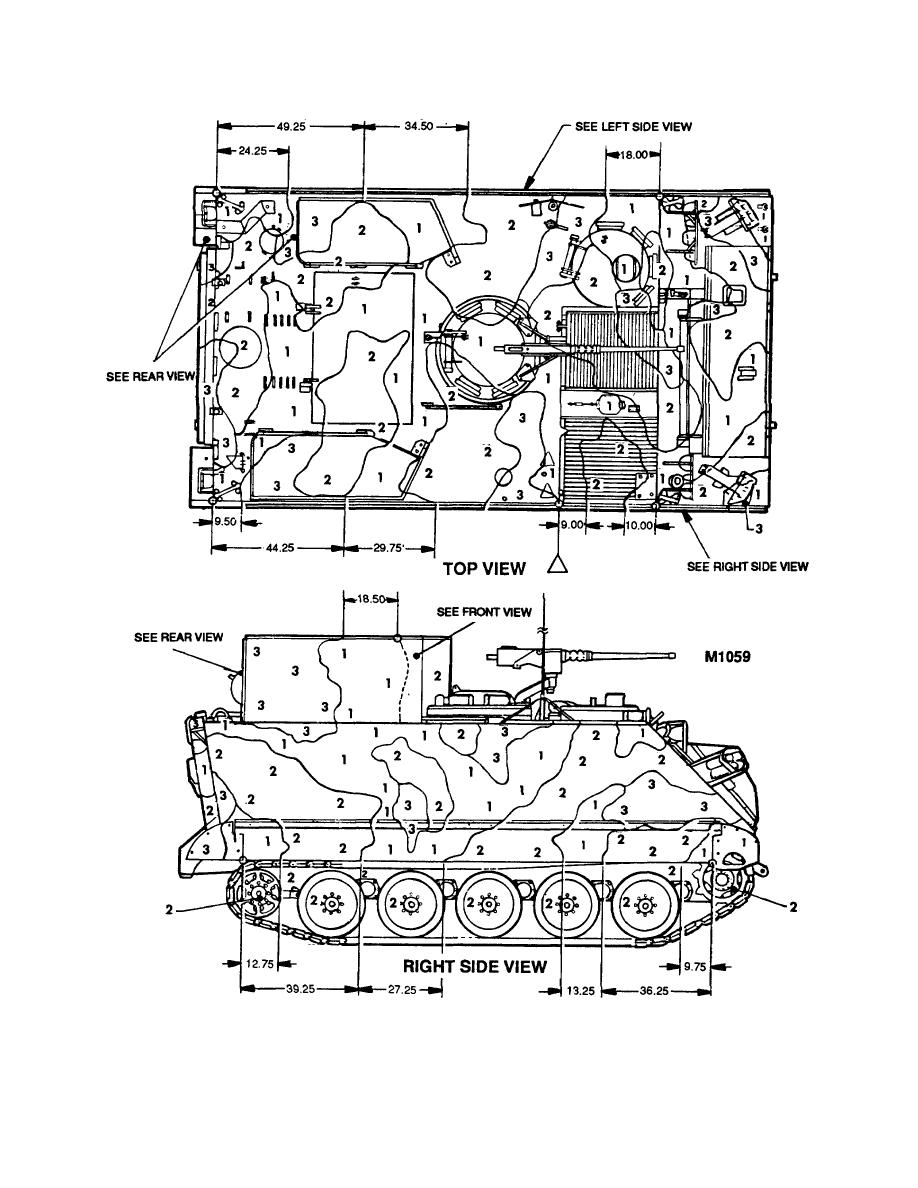Figure 121. Carrier, smoke generator M1059 (1 of 2)