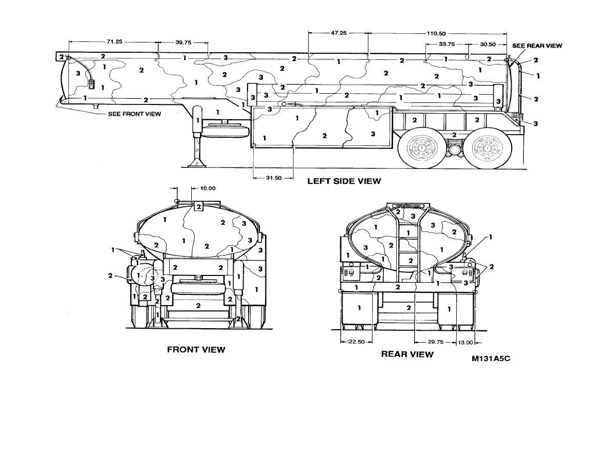 Figure 140 Semitrailer Tanker Fuel Servicing Gallon 4 Wheel M131a5c 2 Of2