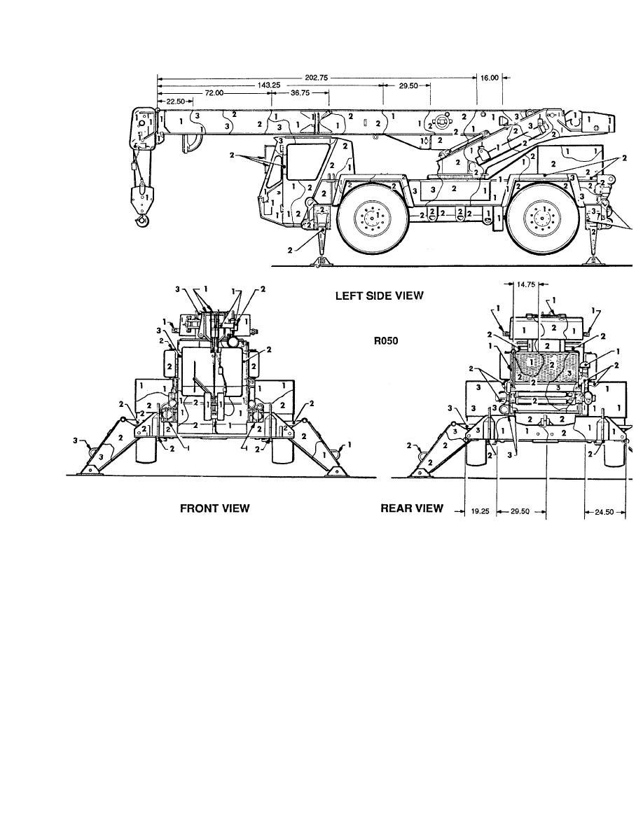 Figure 152. Crane, truck: 7-1/2-ton, R050. (2 of 2)