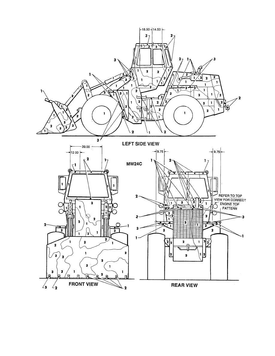 Figure 163. Scoop loader, 2-1/2 CY, MW24C. (2 of 2)