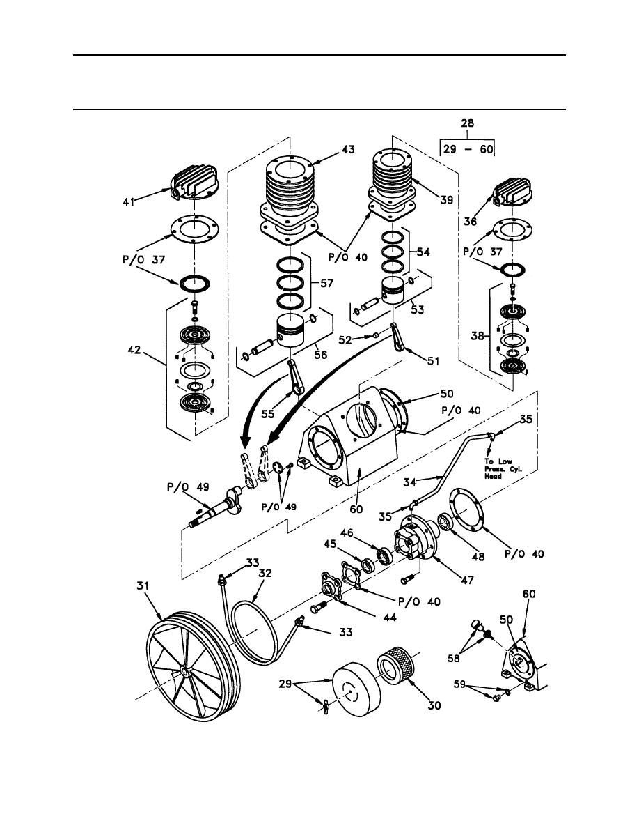 Figure 29. Air Compressor Pump (Sheet 4 of 4)