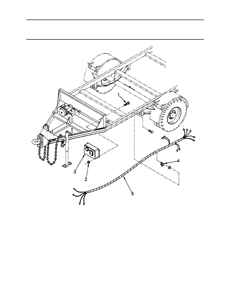 Figure 66. Trailer Wiring Harness (Sheet 1 of 2)