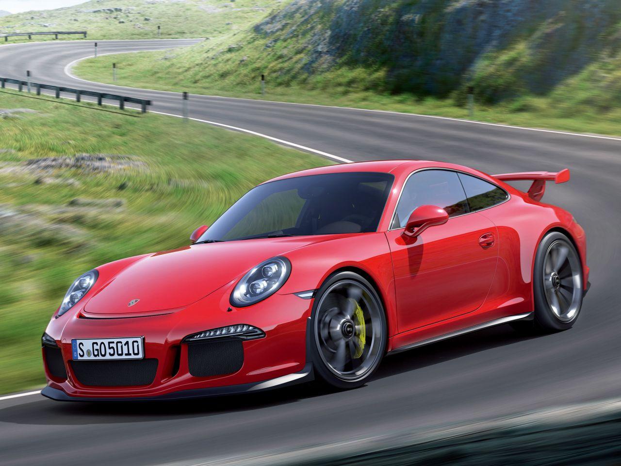 2014 Porsche 911 Gt3 (991) Gets Official Photos
