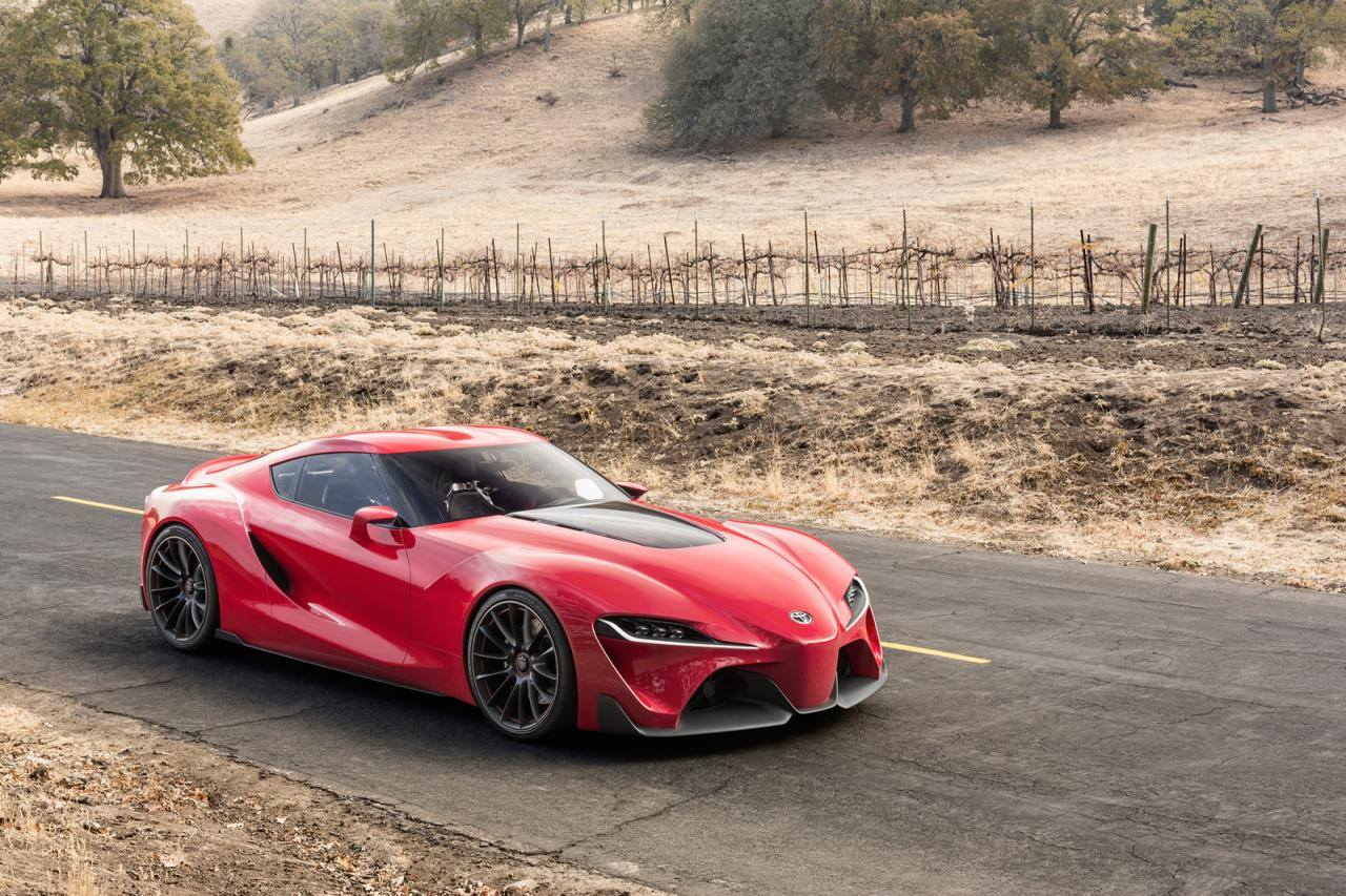 Toyota Ft1 Concept Car Gives Us Supra Dreams At 2014 Naias