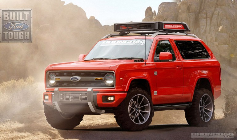 Ford Bronco Fan Site Envisions 2020 Model In Stylish Rendering