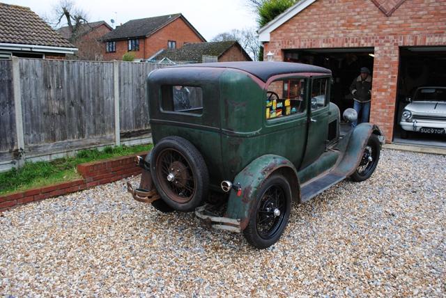 1929 Model A Tudor Survivor