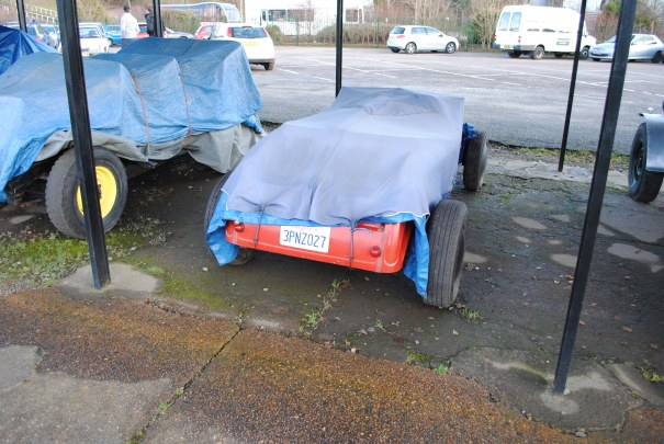 Brooklands Mystery Roadster