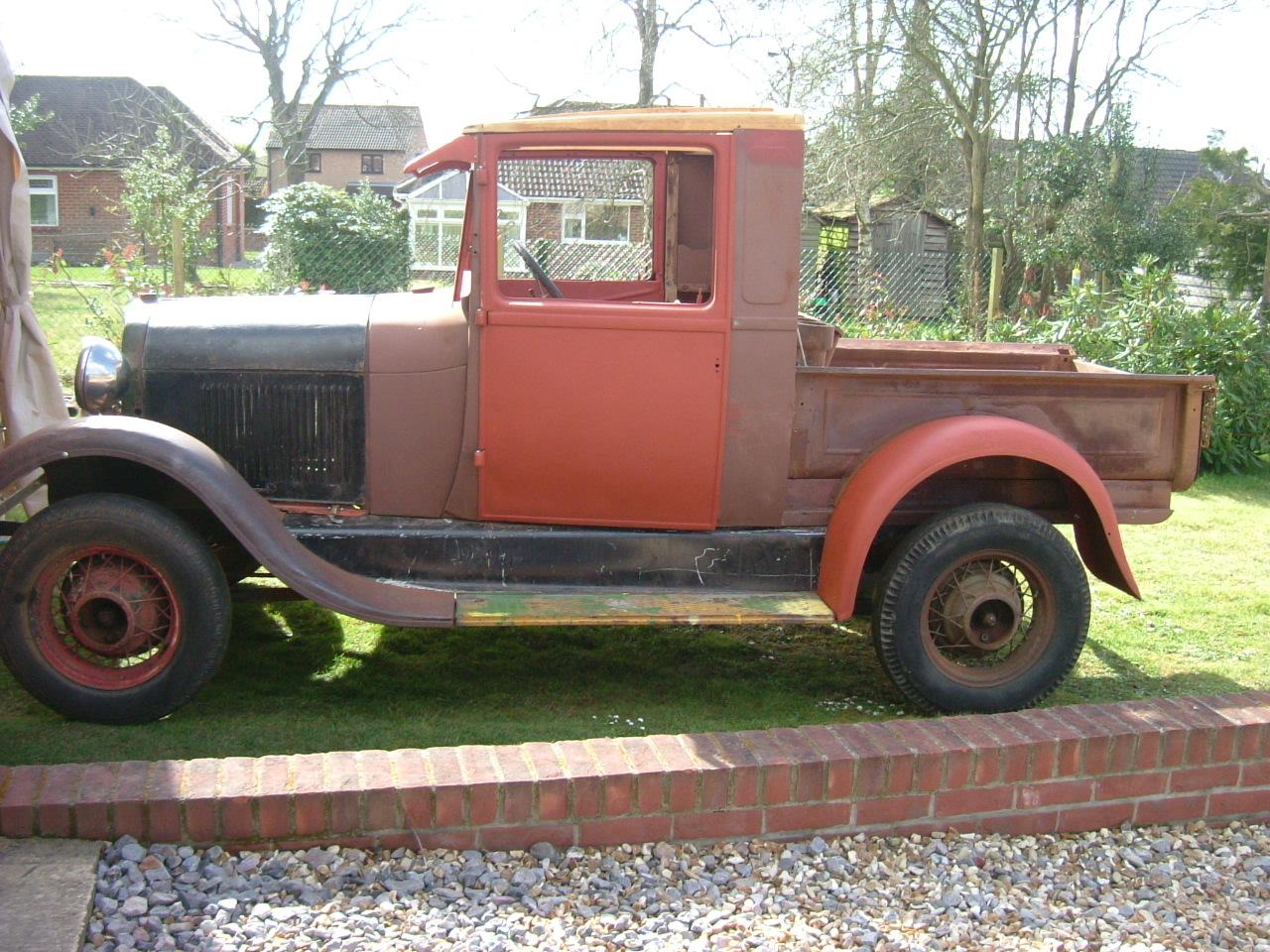 1929 Model A Pick up