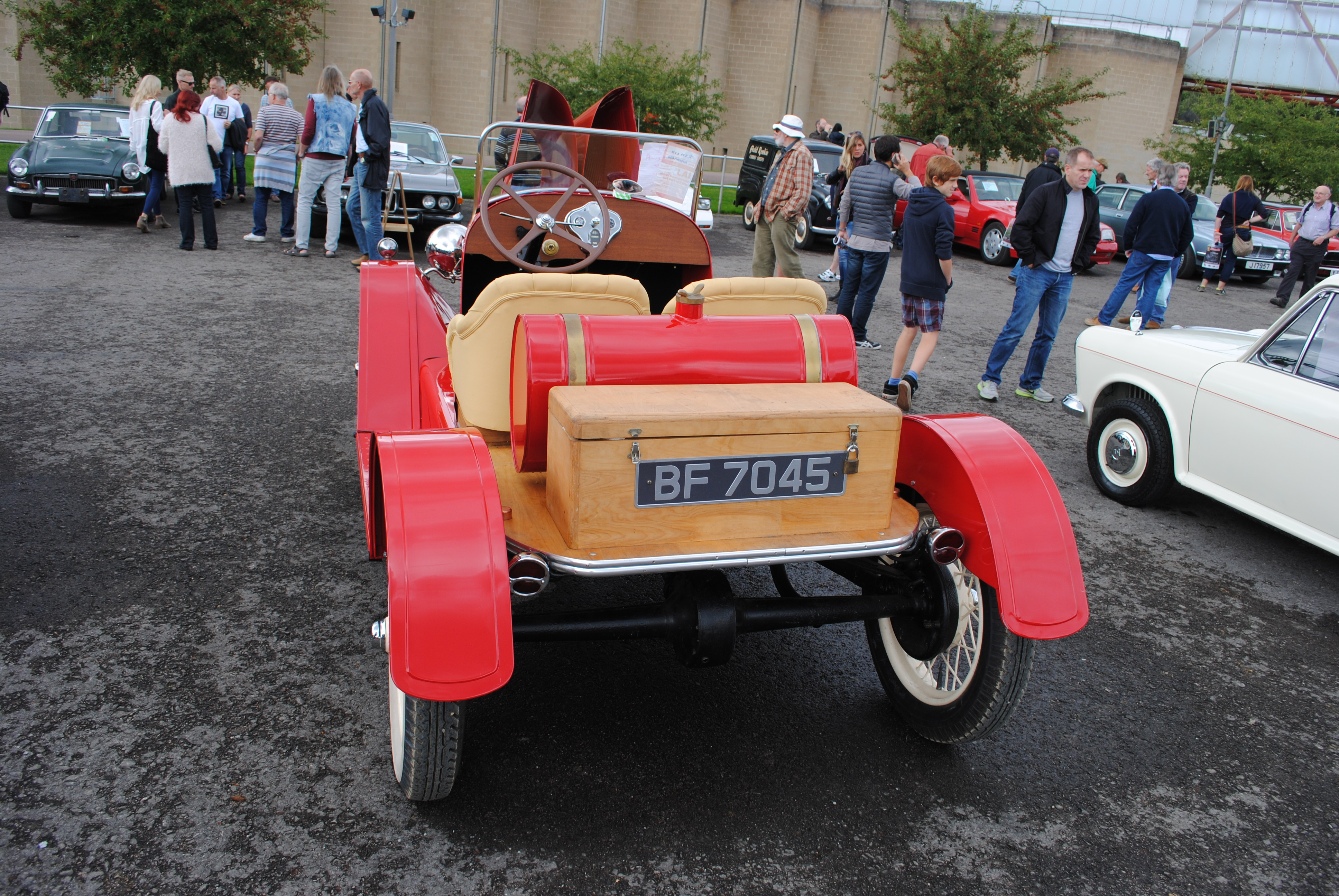 Brian Bignell's 1929 Model A Speedster