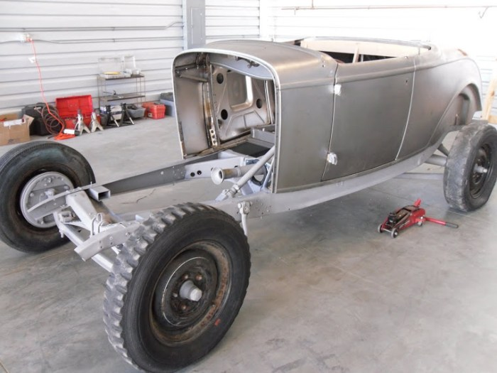 So you want to build a '32 Ford Roadster?