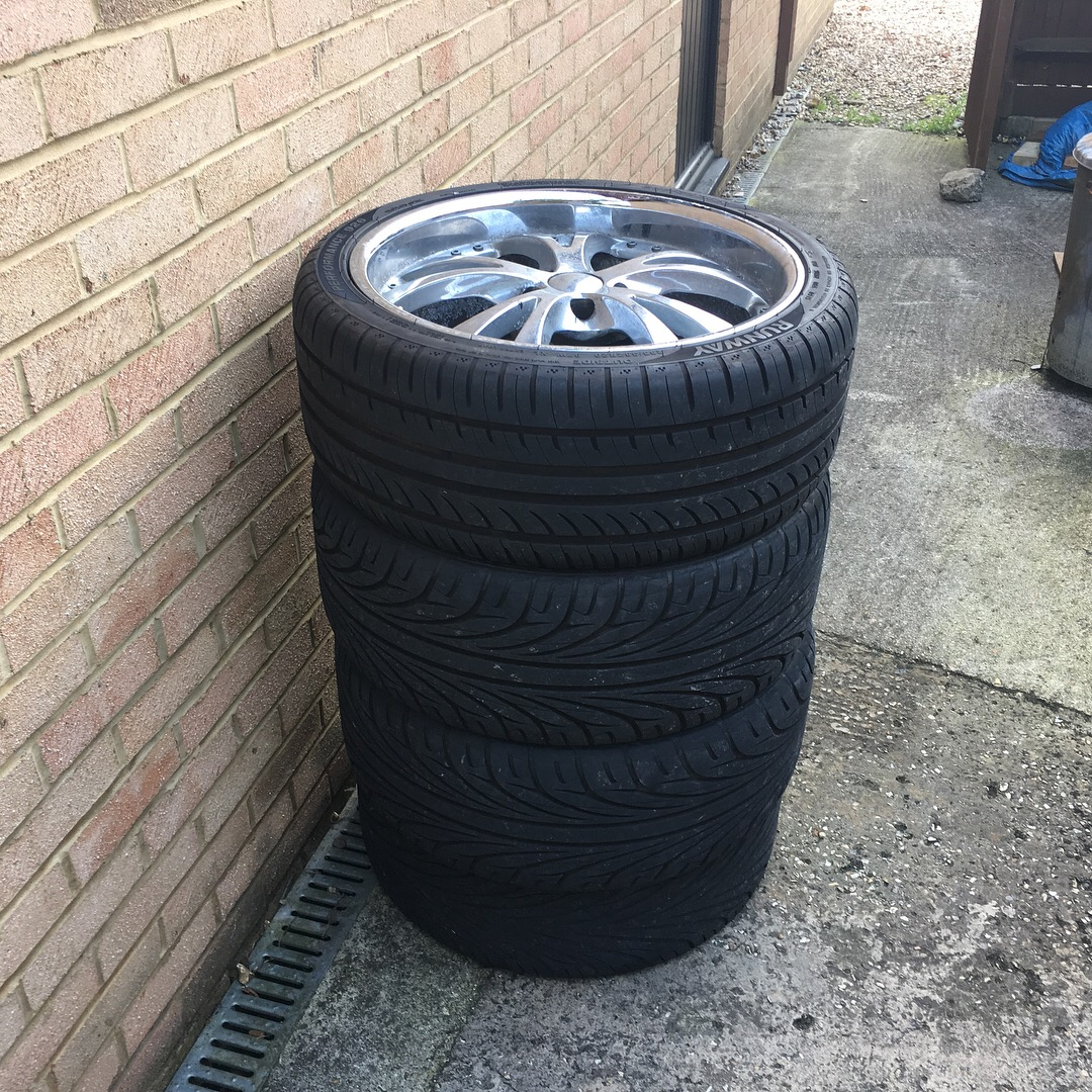 S10 Xtreme Old Rims