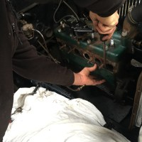 Fitting the Mike's Affordable Oil Filter Oil Kit to the 1929 Model A Ford Sport Coupe