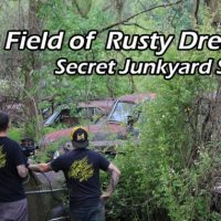 The Field of Rusty Dreams - Secret Junkyard Stash - Irontrap Garage