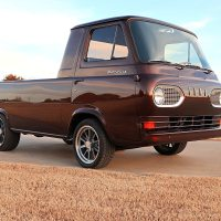 Not a Barn Find Customized 1961 Ford Econoline Shop Truck - John Gilbert @HotRod