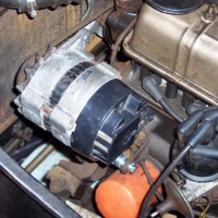 Triumph Herald Alternator Conversion Progress (originally published in 2008)