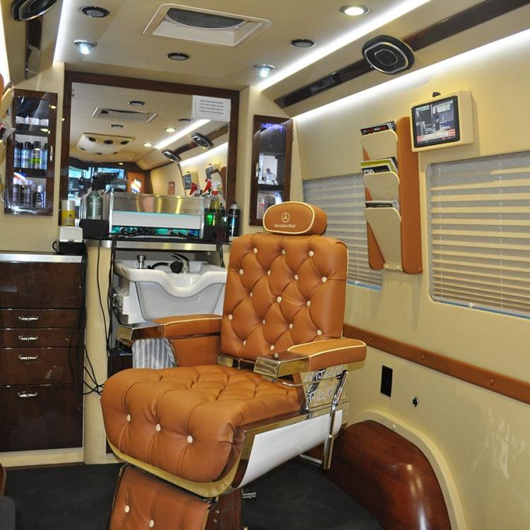 Sprintervan Mobile Barber Shop Conversion  ADF Sprinters