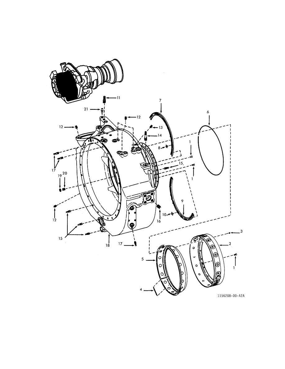 FIGURE 6. PARTICLE SEPARATOR MAIN FRAME