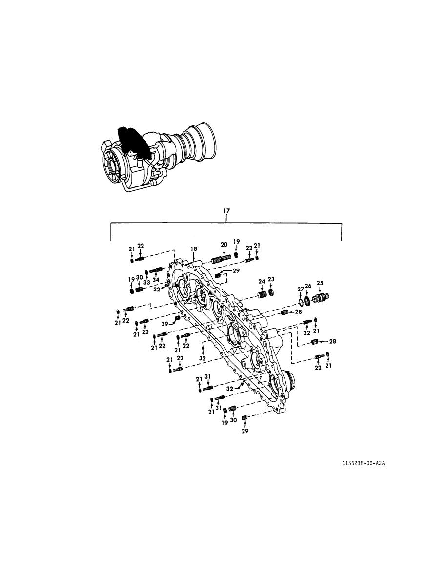 FIGURE 22. FRONT AND REAR GEARBOX HOUSINGS (SHEET 2 OF 2)