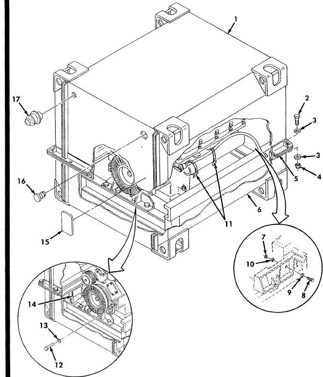 Figure 2. Engine Shipping Container Assembly