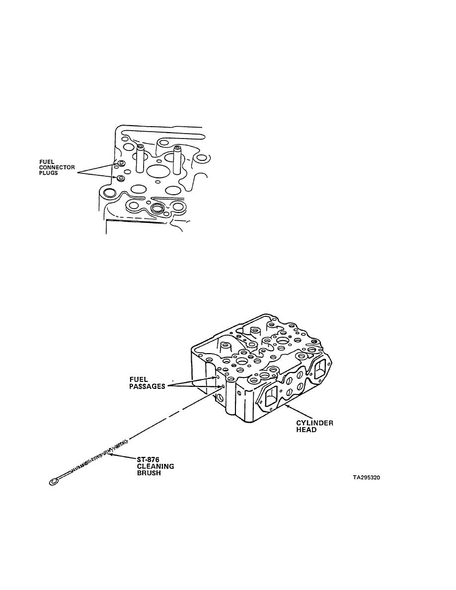 DISASSEMBLE CYLINDER HEAD ASSEMBLY